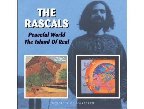 CD The Rascals - Peaceful World / Island Of Real