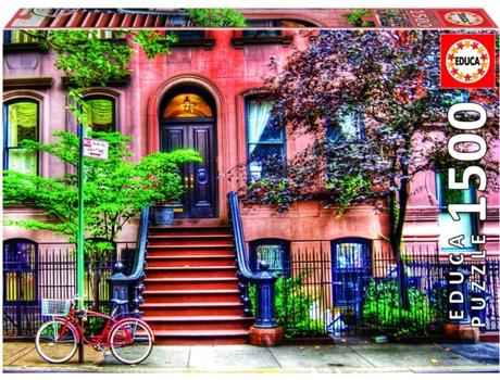 JOGOS E BRINQUEDOS KIDS - Puzzle Greenwich Village Nova Iorque 1500 Peças