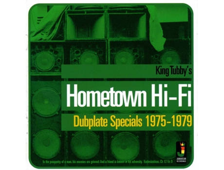 CD King Tubby's - Hometown Hi-Fi (Dubplate Specials 1975-1979)