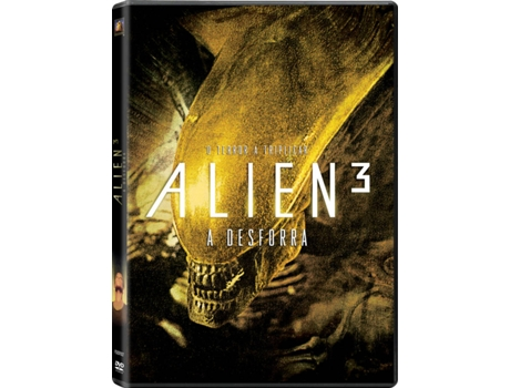 DVD Alien 3: A Desforra — Do realizador David Fincher