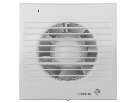 Extrator S&P Decor-100c — 95 m3/h / 40 dB