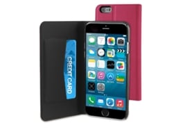 Capa MUVIT Wallet iPhone 6, 6s Rosa — Compatibilidade: iPhone 6, 6s
