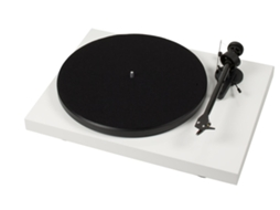 Gira-Discos PRO-JECT Debut Carbon Phono OM10 W — Manual | Velocidade: 33/45 rpm