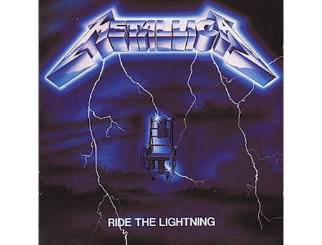 CD Metallica - Ride Lightening — Pop-Rock