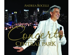 CD Andrea Bocelli-Concerto: One Night In Central Park — Clássica