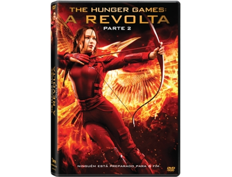 DVD The Hunger Games: A Revolta - Parte 2 — De: Francis Lawrence | Com: Jennifer Lawrence, Josh Hutcherson, Liam Hemsworth