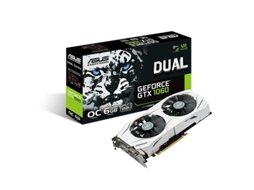Placa Gráfica ASUS GEFORCE GTX1060 6GB DDR5 — GeForce GTX 1060 / 1708 MHz / 6144 GB GDDR5