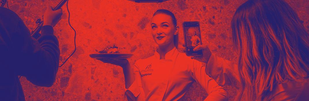 Showcooking com Chef Ann-Kristin