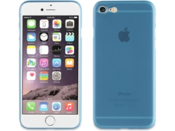 Capa MUVIT Ultrafine Fever iPhone 7, 8 Azul — Compatibilidade: iPhone 7, 8