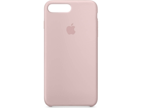 Capa APPLE Silicone iPhone 7 Plus, 8 Plus Rosa — Compatibilidade: iPhone 7 Plus, 8 Plus