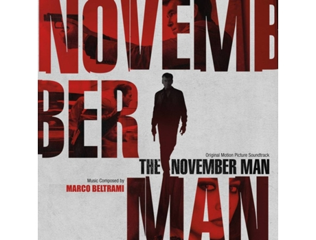 CD Marco Beltrami - The November Man (Original Motion Picture Soundtrack)
