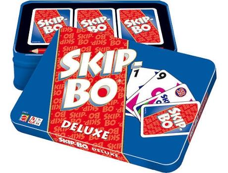Mattel - Jogo de Cartas MATTEL Skip-Bo Deluxe