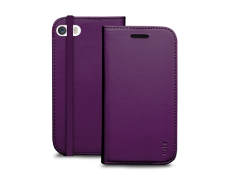 Capa SBS Book Apple iPhone 5, 5s, SE Roxo — Compatibilidade: iPhone 5, 5s, SE