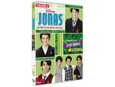 DVD Jonas - Temporada 1 — De: Mark Ritchie | Com: Jonas Brothers