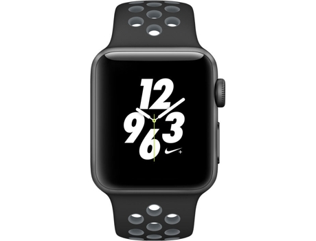 APPLE Watch Nike+ 38 mm Cinzento, Antracite, Preto — Bluetooth 4.0 e Wi-fi | 279 mAh | iOS