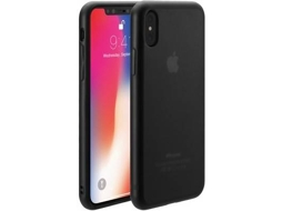Capa JUST MOBILE Tenc Matte iPhone X Transparente — Compatibilidade: iPhone X