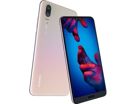 Smartphone HUAWEI P20 128GB Rosa — Android 8.1 | 5.8'' | Octa-Core | 4 GB RAM | Dual SIM