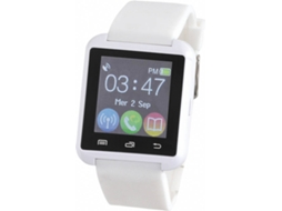 Smartwatch CLIPSONIC TEC583W Branco — Bluetooth / 100 mAh / Android e iOS