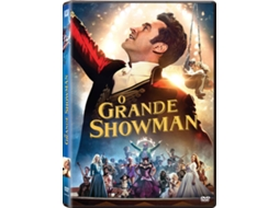 DVD O Grande Showman — De: Michael Gracey | Com: Hugh Jackman, Michelle Williams, Zac Efron