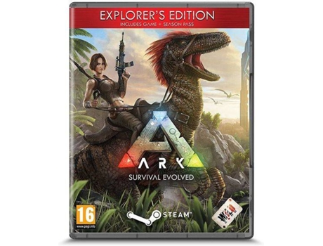 Jogo PC ARK Survival Evolved (Explorer's Edition- M16) — RPG | Idade mínima recomendada: 16
