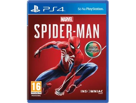 Jogo PS4 Marvel s Spider-man (Edição Normal)  bc5a7d32e8075