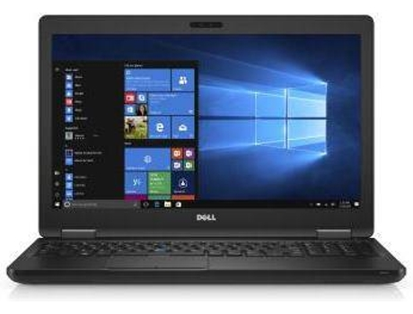 Portátil 15.6'' DELL Latitude 5580 — Intel Core i7-7600U | 8 GB | 256GB | Intel HD 620