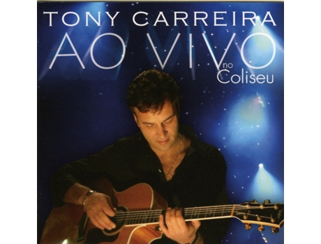 CD Tony Carreira - Ao Vivo no Coliseu — Portuguesa