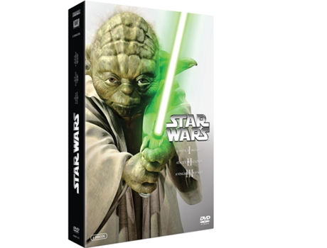 Pack DVD Star Wars - Prequela (1+2+3) — De: George Lucas