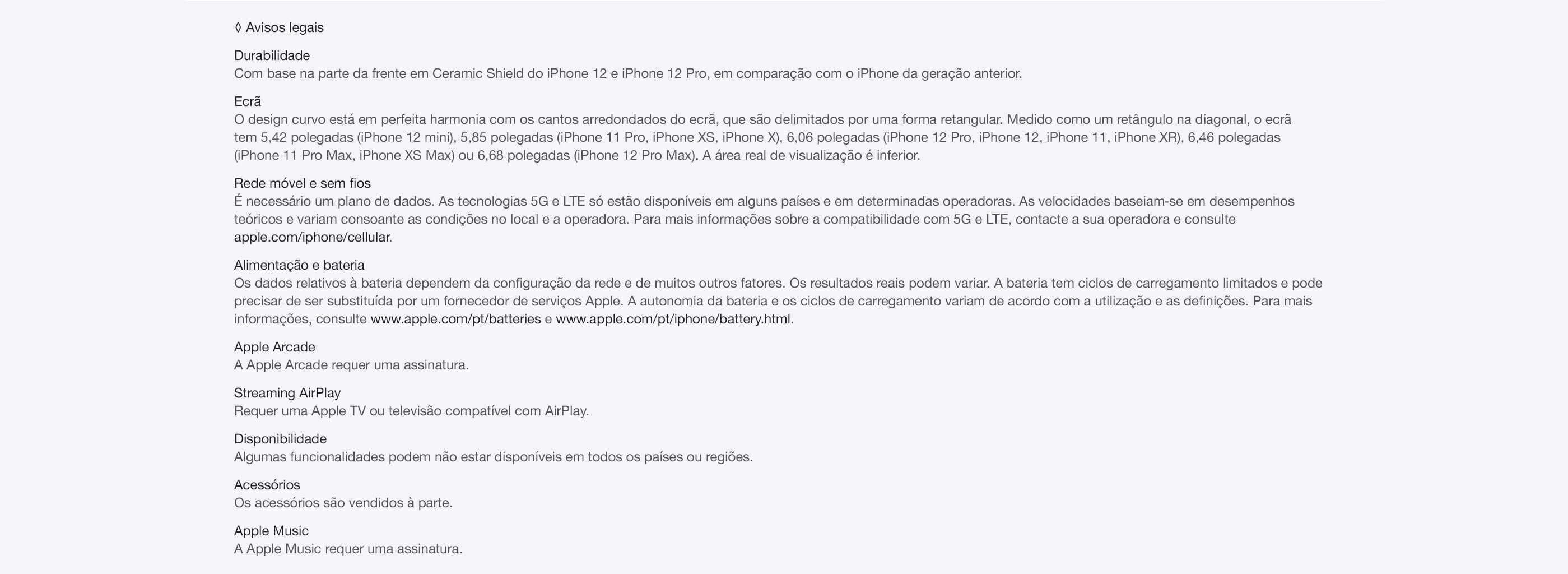 iPhone 12 e iPhone 12 Mini O que torna o iPhone único