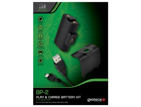 Pack Bateria GIOTECK Play&Charge BP-2 — PS4