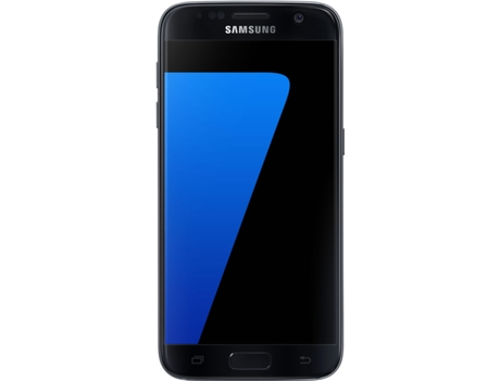 Smartphone SAMSUNG Galaxy S7 32GB Preto — Android 6.0 / 5.1'' / 4G/ Dual Core 2.15 GHz + Dual Core 1.6 GHz