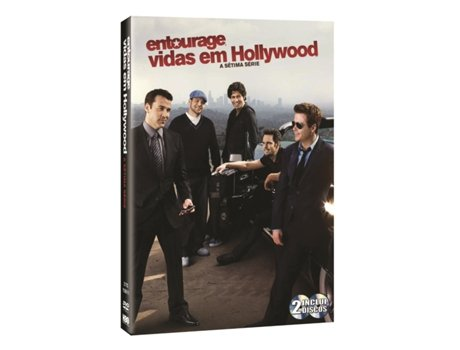 DVD Vidas em Hollywood - Temporada 7 — De: Doug Ellin | Com: Jeremy Piven,Kevin Dillon,Kevin Connolly,Adrian Grenier,Jerry Ferrara