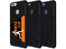 Capa ARTWIZZ Card Huawei P Smart Preto — Compatibilidade: Huawei P Smart