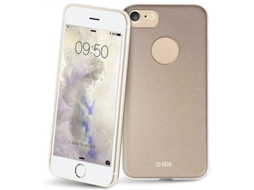Capa SBS Slim Color iPhone 7, 8 Dourado — Compatibilidade: iPhone 7, 8