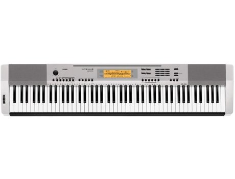 Piano Digital CASIO CDP-230 SR Prateado — 88 teclas / 700 sons
