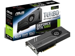 Placa Gráfica ASUS GeForce GTX 1080 Turbo 8GB — GeForce GTX 1080 | 1607 MHz | 8 GB DDR5X