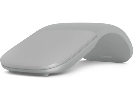 Rato MICROSOFT Surface Arc (Bluetooth - Regular - Cinzento) — Sem Fios | Buetooth