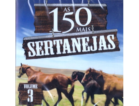 CD Banda Cowboys do Sertão - As 150 Mais Sertanejas Vol.3 — Brasileira