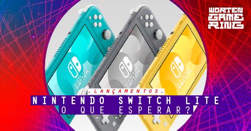 Novo Nintendo Switch Lite