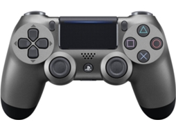 Comando PS4 Dualshock 4 Steel Black — PS4