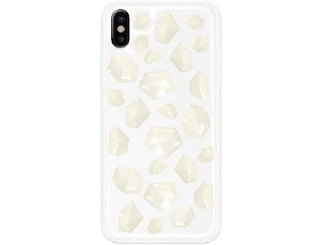 Capa BENJAMINS Rock Iph8 White — Compatibilidade: iPhone X