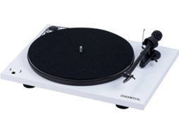 Gira-Discos PRO-JECT Essential 3 Recordmaster Branco — Manual | Velocidade: 33/45 rpm