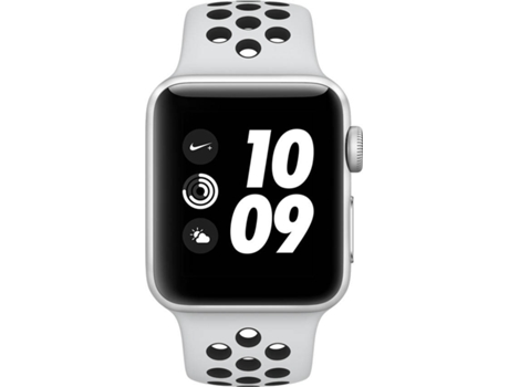 Apple Watch APPLE Nike+ GPS 38 mm Prateado, Preto — Bluetooth 4.2 e Wi-fi | 279 mAh | iOS