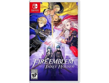 Jogo Nintendo Switch Fire Emblem: Three Houses (M12)