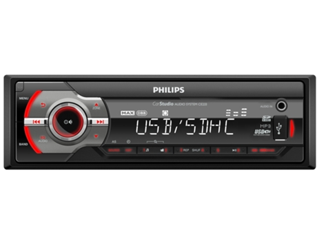 Autorrádio PHILIPS CE233 — 50 W / MP3