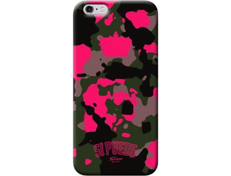 CAPA SIPUEDE CAMOUFLAGE CASE IPH8/7 PINK — iPhone 7