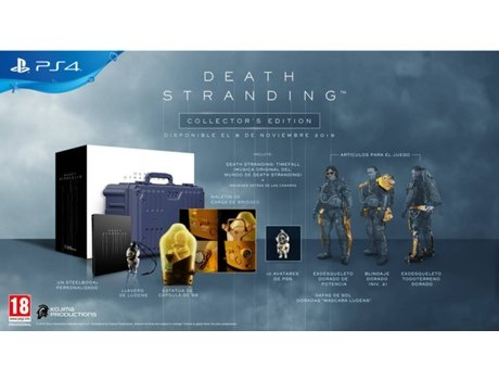 Jogo PS4 Death Stranding (Collector's Edition - M18)