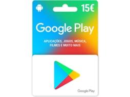 Google Play Karte 15 Euro