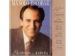 CD Manolo Escobar - Suspiros de España — Música do Mundo
