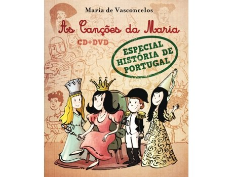 CD+DVD Maria Vasconcelos -As canções da Maria — Infantil